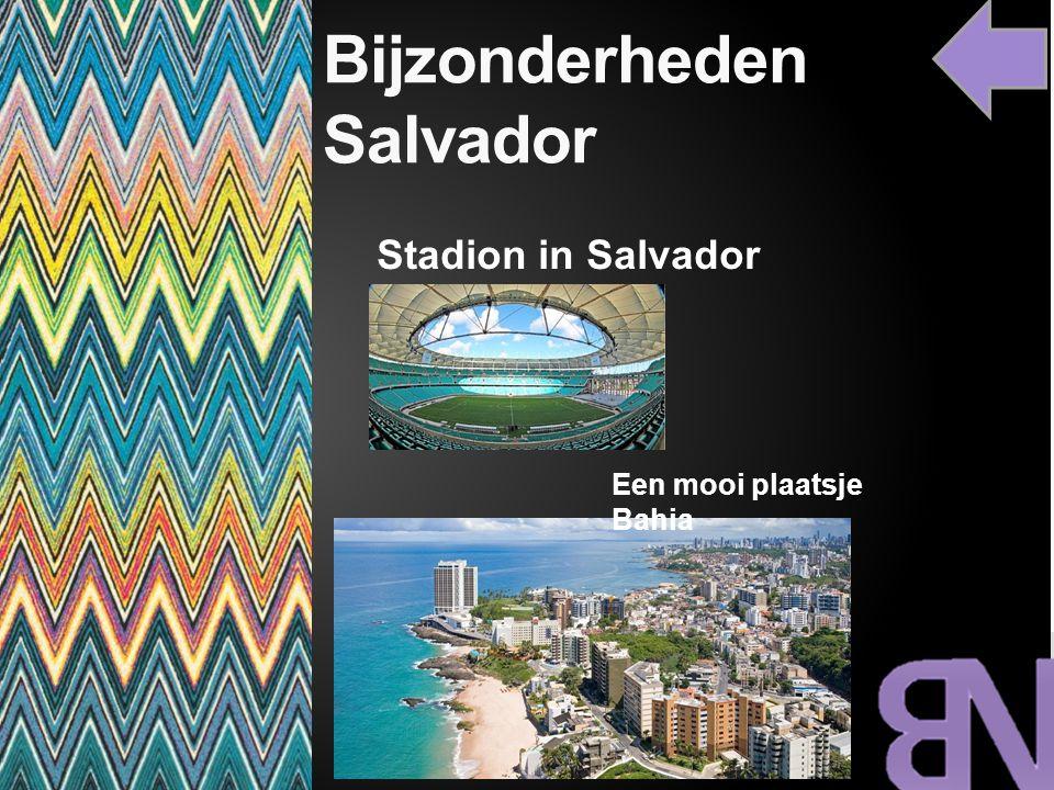Bijzonderheden Salvador Een mooi plaatsje Bahia Stadion in Salvador