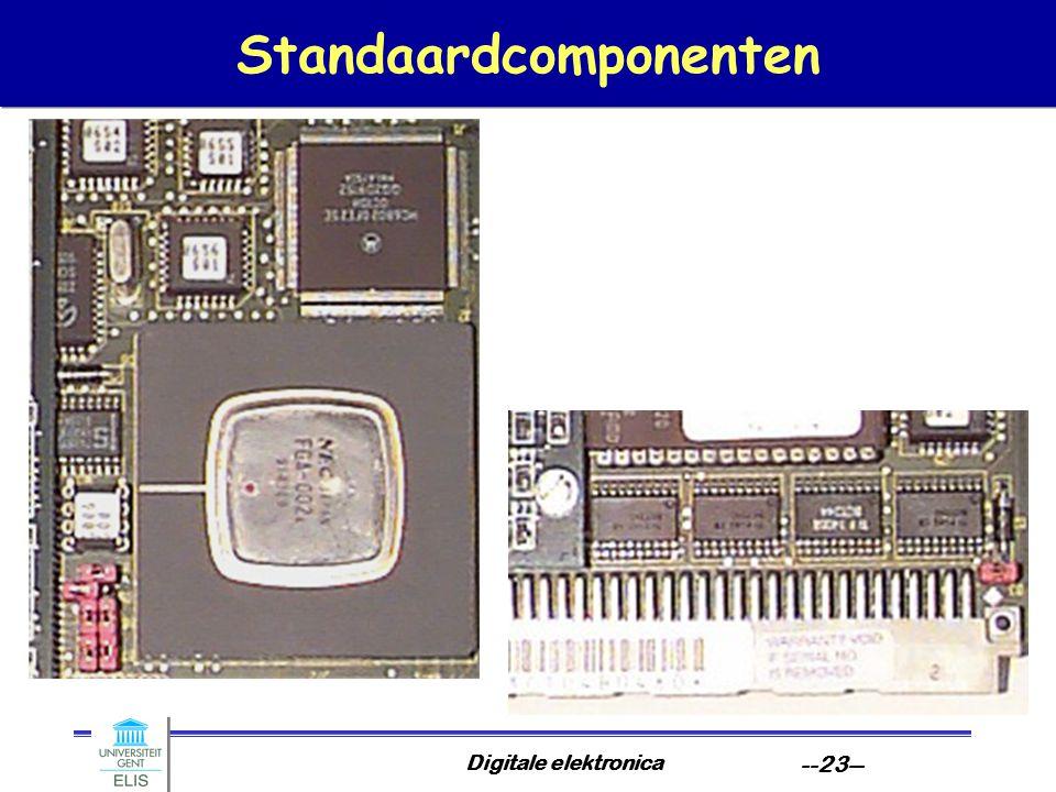 Digitale elektronica --23-- Standaardcomponenten