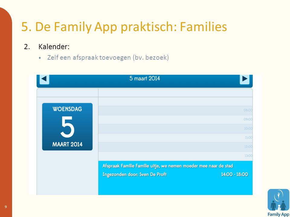10.Resultaten: Deel 2 = Families 1.