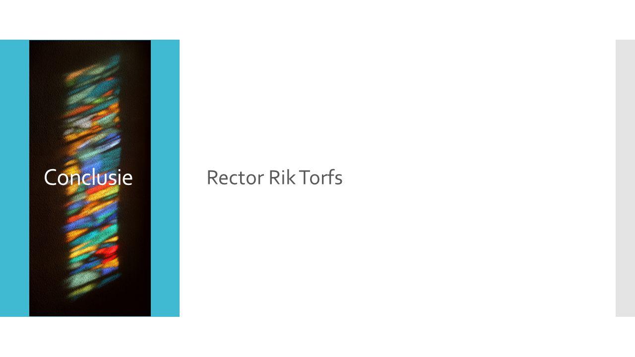Conclusie Rector Rik Torfs
