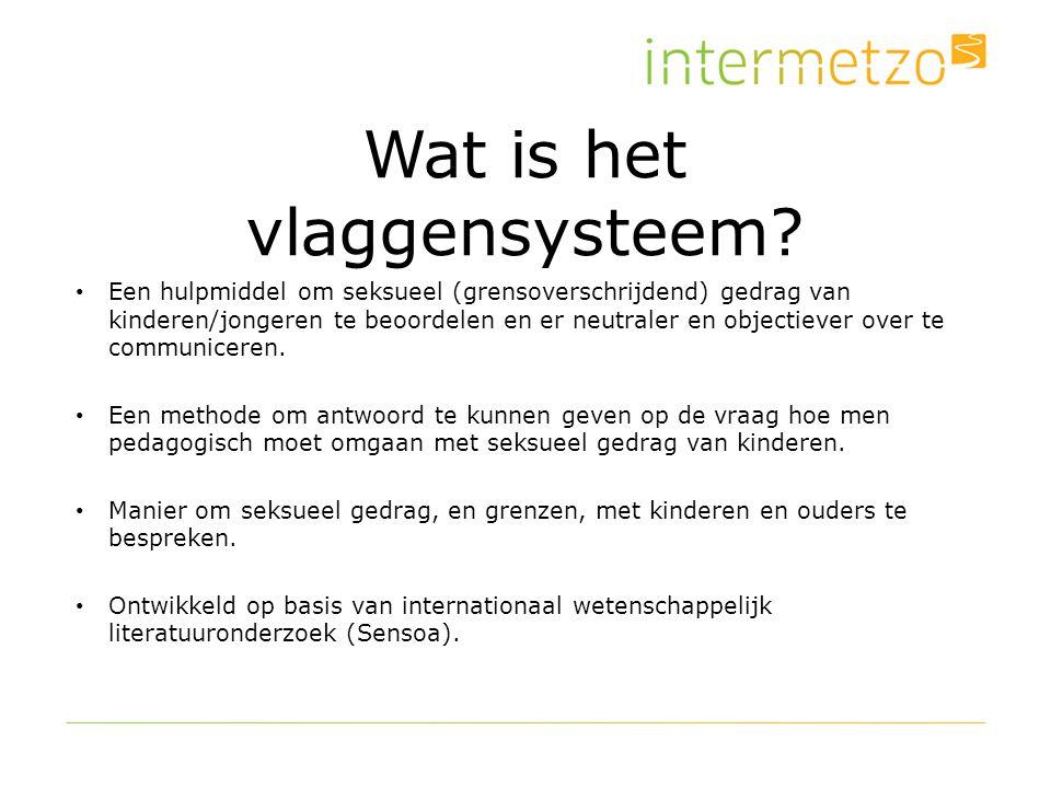 Wat is het vlaggensysteem? Een hulpmiddel om seksueel (grensoverschrijdend) gedrag van kinderen/jongeren te beoordelen en er neutraler en objectiever