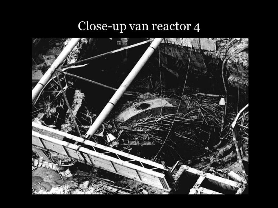 Close-up van reactor 4