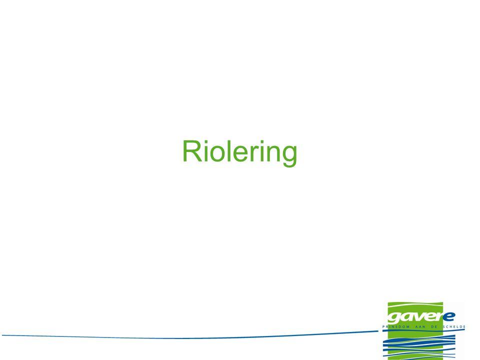 Riolering – Algemeen Aanleg van een gescheiden rioolstelsel voor afvalwater (DWA) en voor regenwater (RWA) ipv gemengd rioolstelsel Elk perceel krijgt één RWA-aansluiting en één DWA- aansluiting 20/08/2014gemeente Gavere19