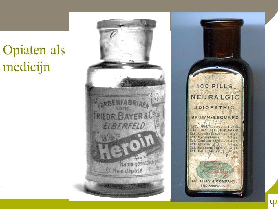 Opiaten als medicijn