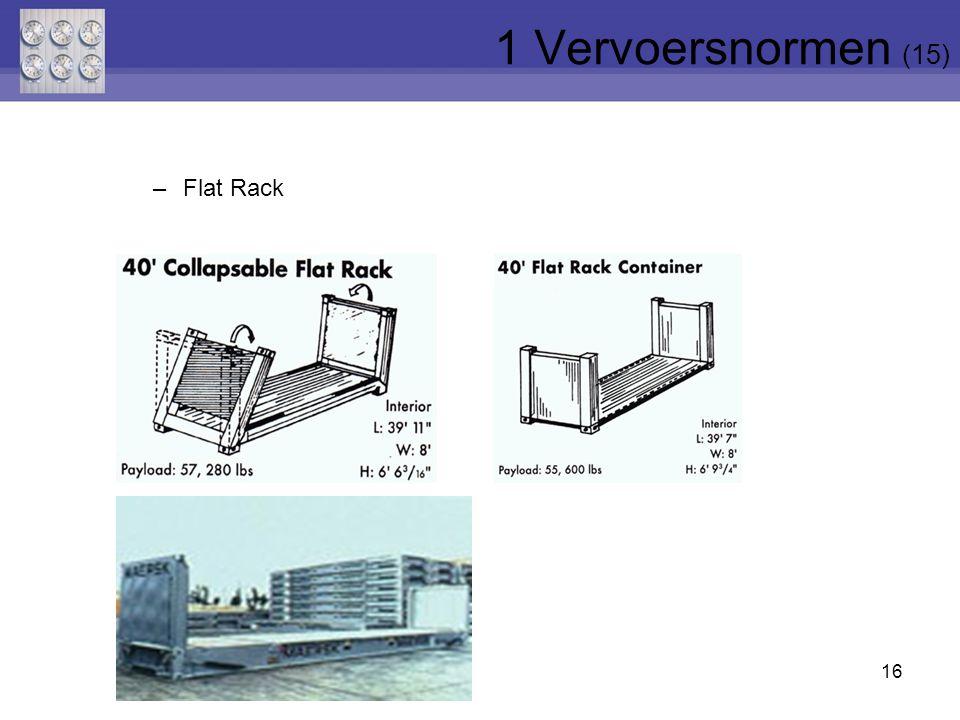 16 –Flat Rack 1 Vervoersnormen (15)