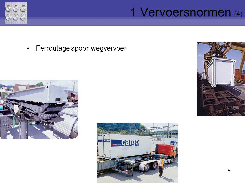 5 Ferroutage spoor-wegvervoer 1 Vervoersnormen (4)