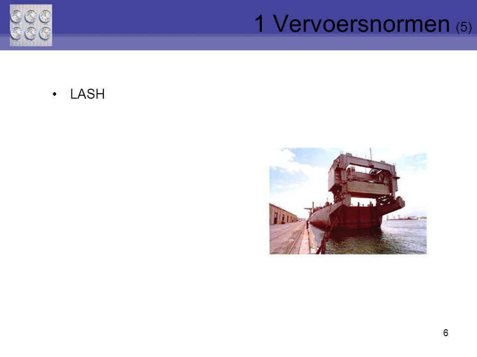 6 LASH 1 Vervoersnormen (5)