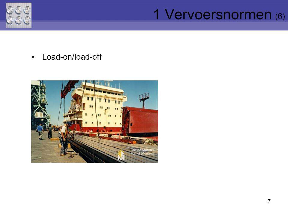 7 Load-on/load-off 1 Vervoersnormen (6)