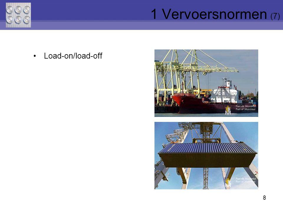 8 Load-on/load-off 1 Vervoersnormen (7)
