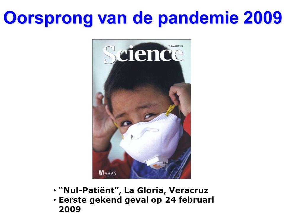 """Nul-Patiënt"", La Gloria, Veracruz Eerste gekend geval op 24 februari 2009 Oorsprong van de pandemie 2009"