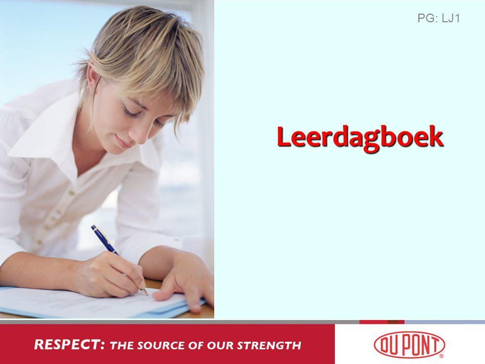 Leerdagboek PG: LJ1