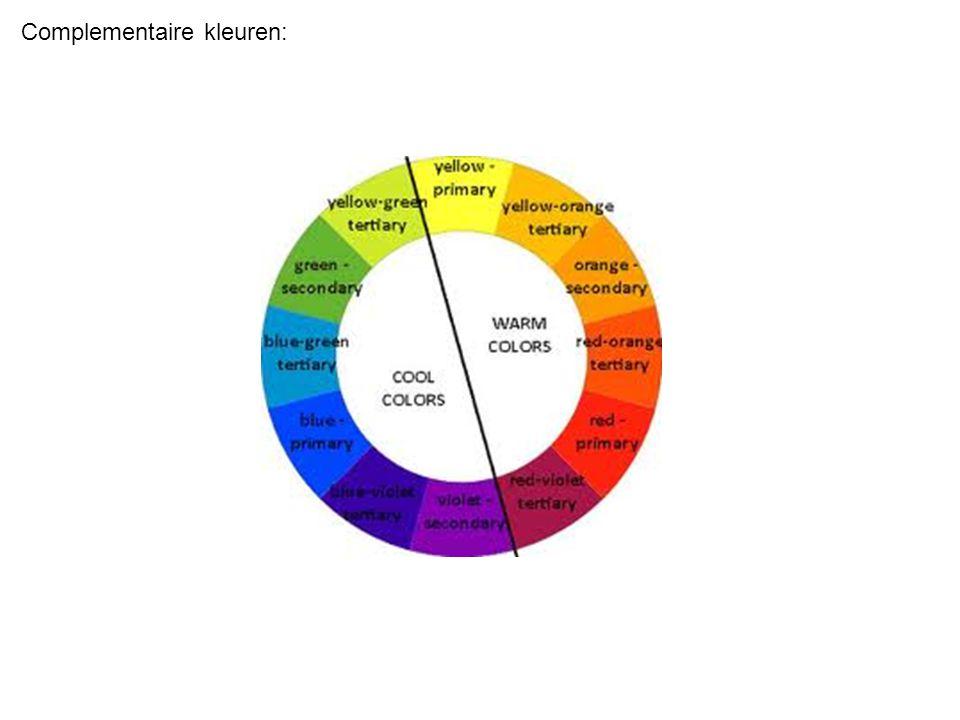 Complementaire kleuren: