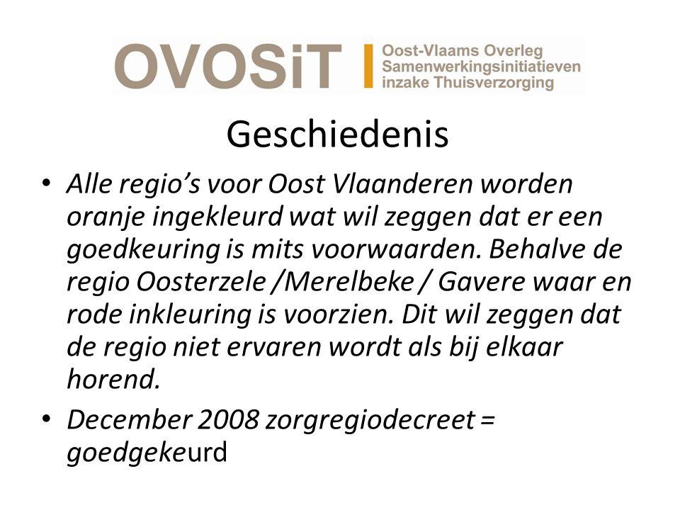 Geschiedenis Alle regio's voor Oost Vlaanderen worden oranje ingekleurd wat wil zeggen dat er een goedkeuring is mits voorwaarden.