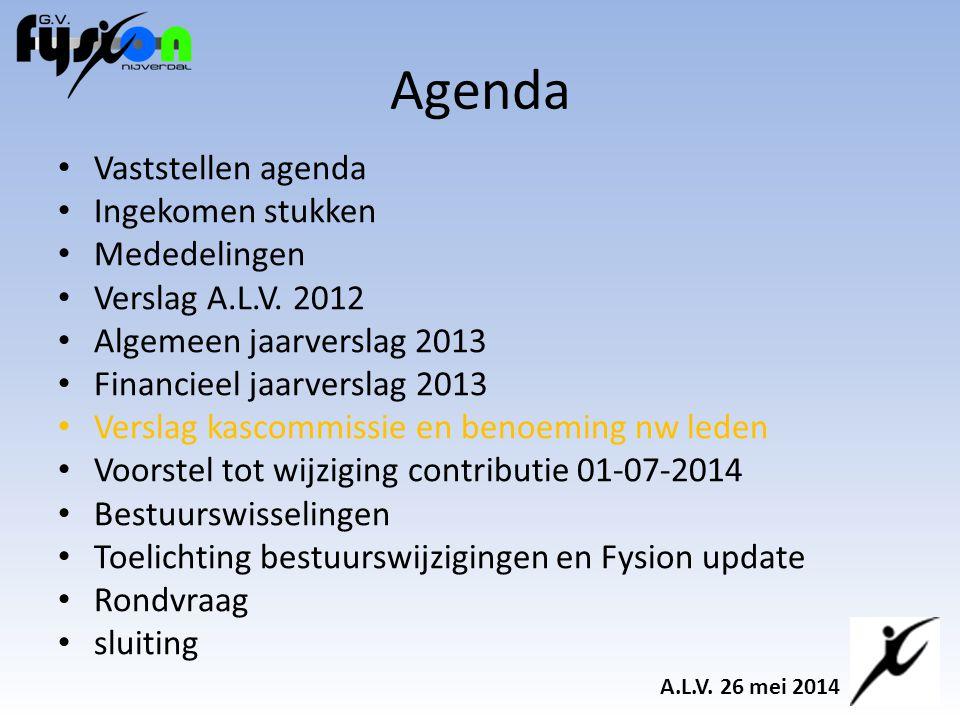 Voorstel tot wijziging contributie 01-07-2014 Basiscontributie.