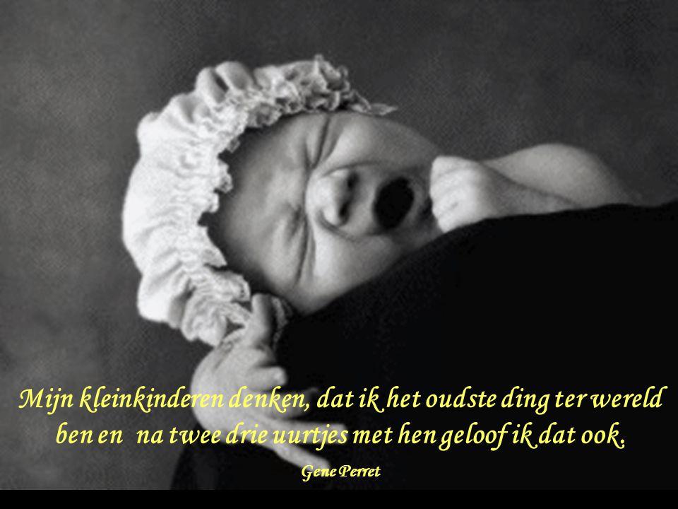 Kleinkinderen blijven niet jong voor altijd, gelukkig maar, want de kracht van grootouders kent ook zijn grenzen.
