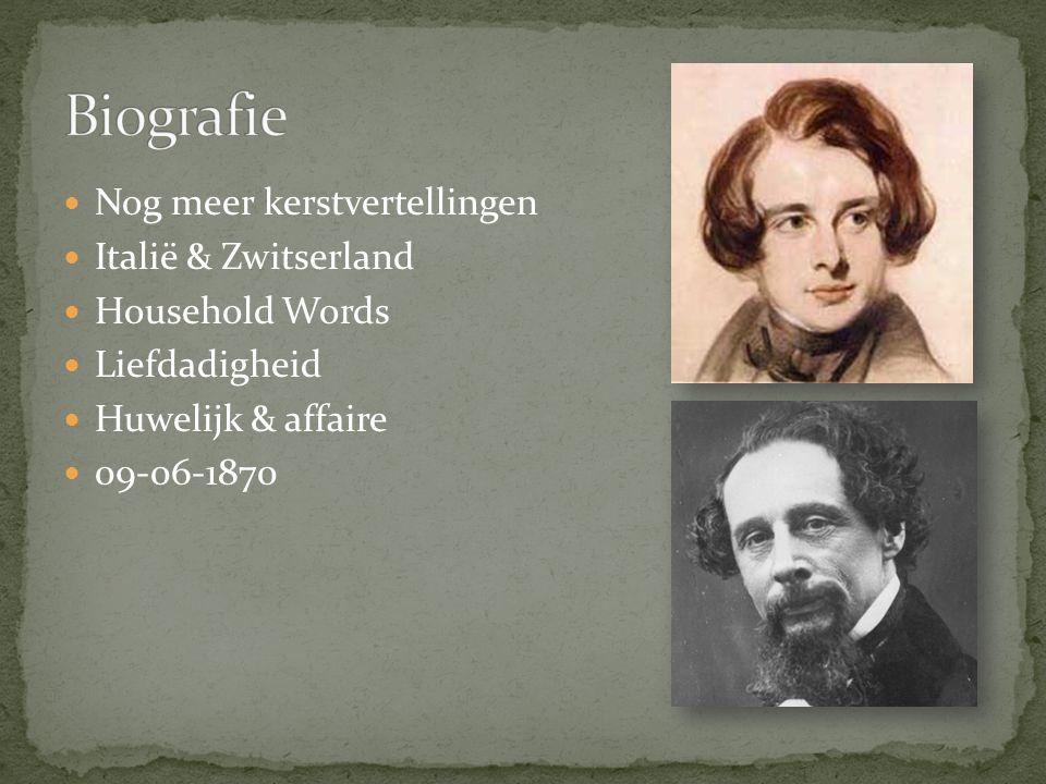 Nog meer kerstvertellingen Italië & Zwitserland Household Words Liefdadigheid Huwelijk & affaire 09-06-1870