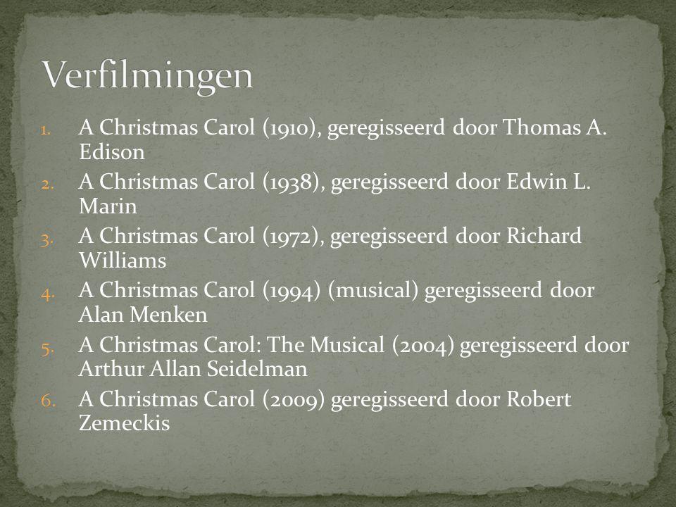 1. A Christmas Carol (1910), geregisseerd door Thomas A.