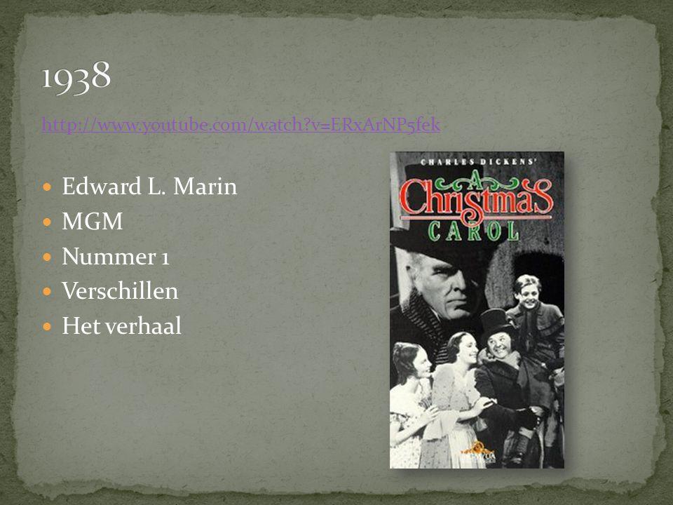 http://www.youtube.com/watch v=ERxArNP5fek Edward L. Marin MGM Nummer 1 Verschillen Het verhaal
