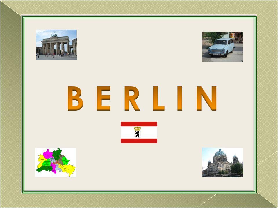 Sculptuur 'Berlijn' opgericht in 1987 voor de 750 jaar van de stad.