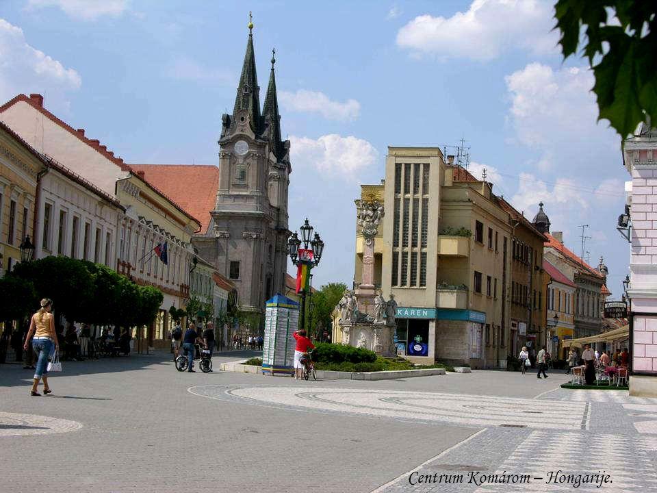Oude Burcht Komárno – Slowakije.