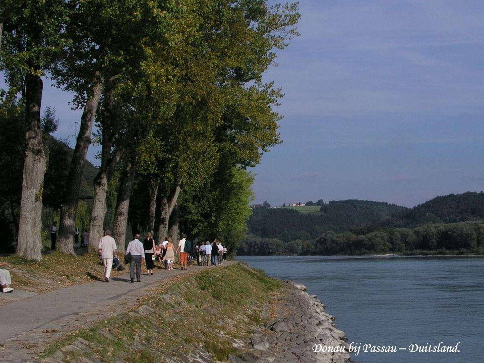 Donau bij Passau – Duitsland.