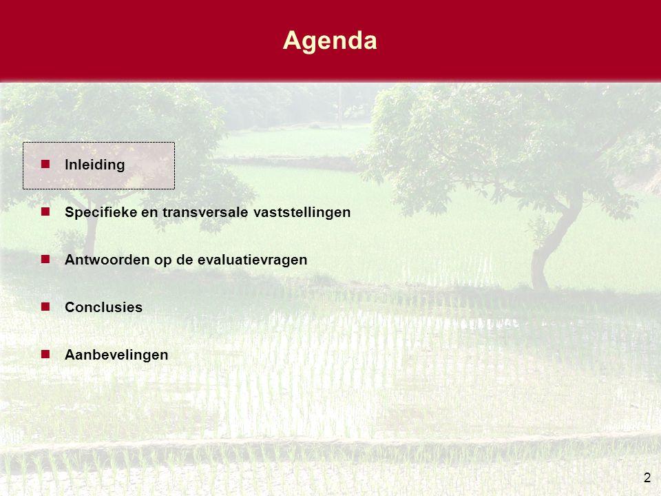 Kader, voorwerp en reikwijdte Strategisch kader: –De strategienota leefmilieu (2002) –het rapport over Klimaatverandering en het Belgische ontwikkelingssamenwerkingsbeleid: uitdagingen en mogelijkheden , –paragrafen in verband met milieu uit de algemene beleidsnota's van de verschillende ministers, en de ISP's (indicatieve samenwerkingsprogramma's met de partnerlanden).