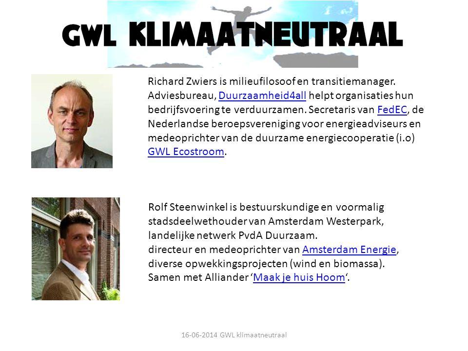 Wie zijn wij? Richard Zwiers is milieufilosoof en transitiemanager. Adviesbureau, Duurzaamheid4all helpt organisaties hun bedrijfsvoering te verduurza