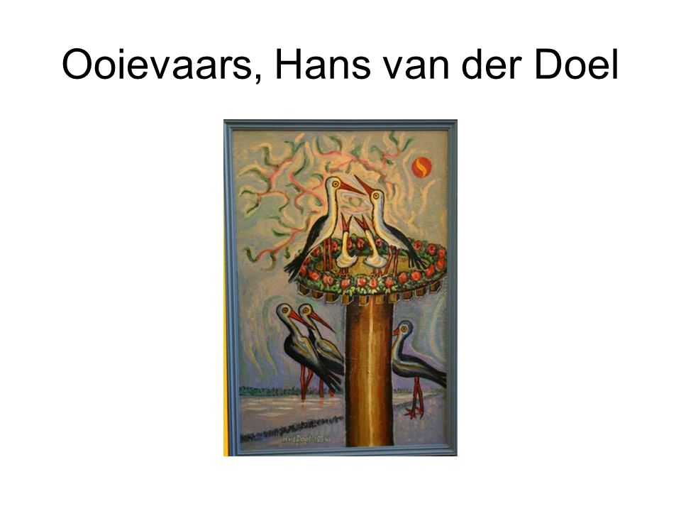 Ooievaars, Hans van der Doel