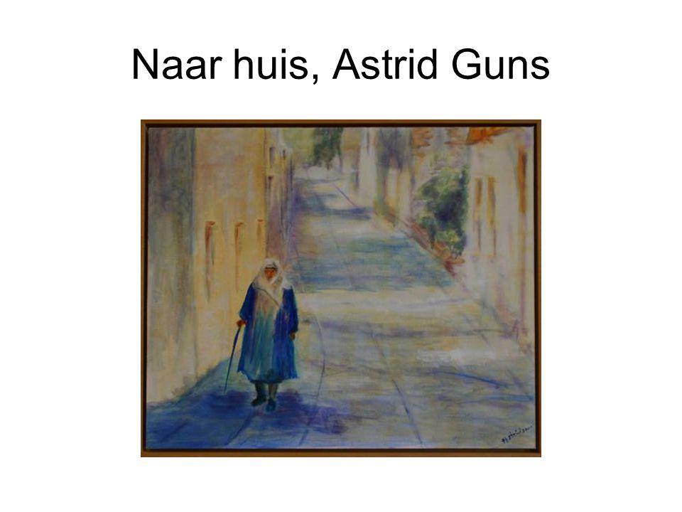 Naar huis, Astrid Guns
