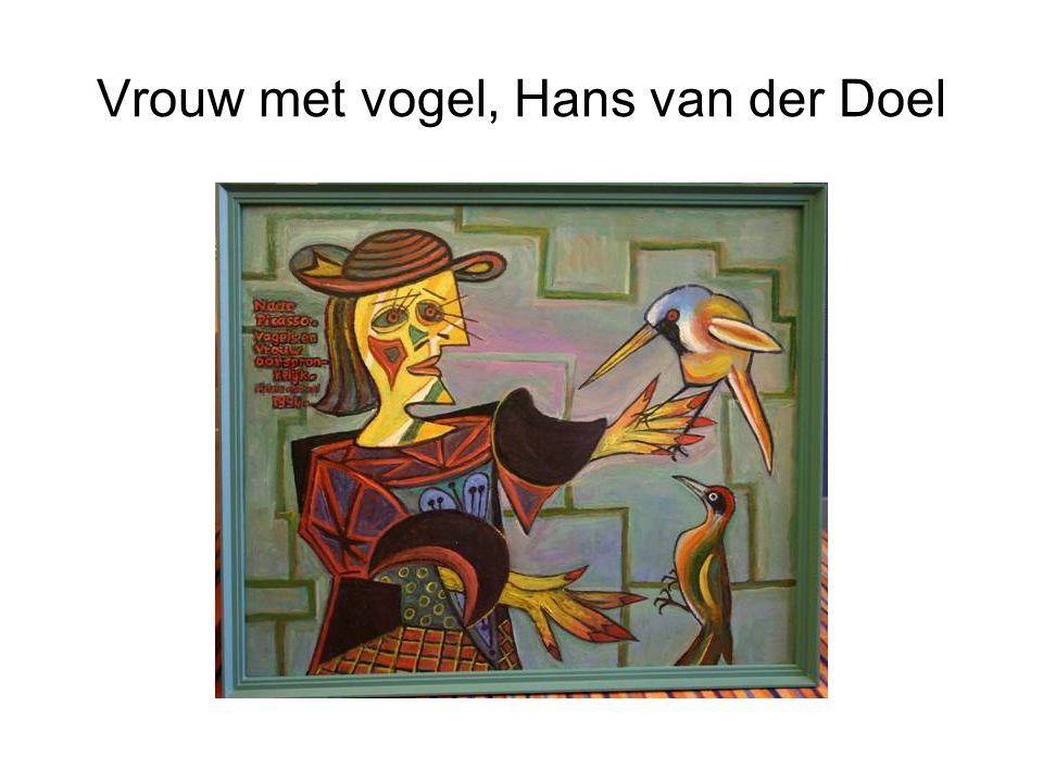 Man met Speer, Hans van der Doel