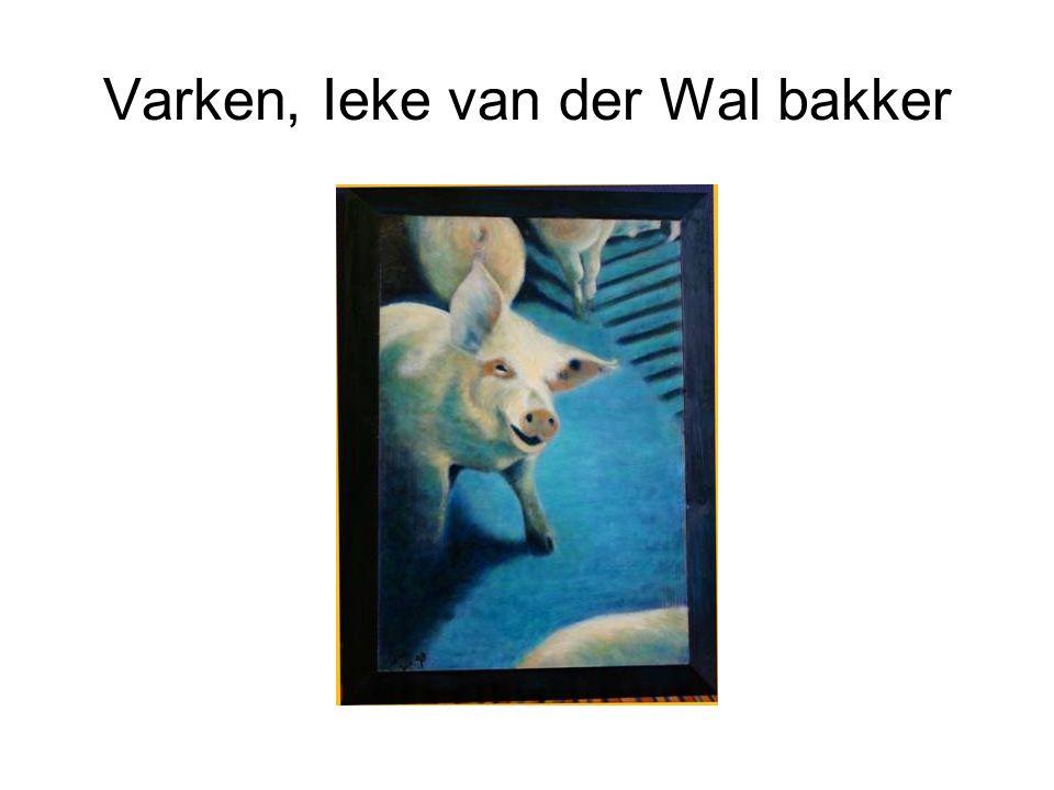 Varken, Ieke van der Wal bakker