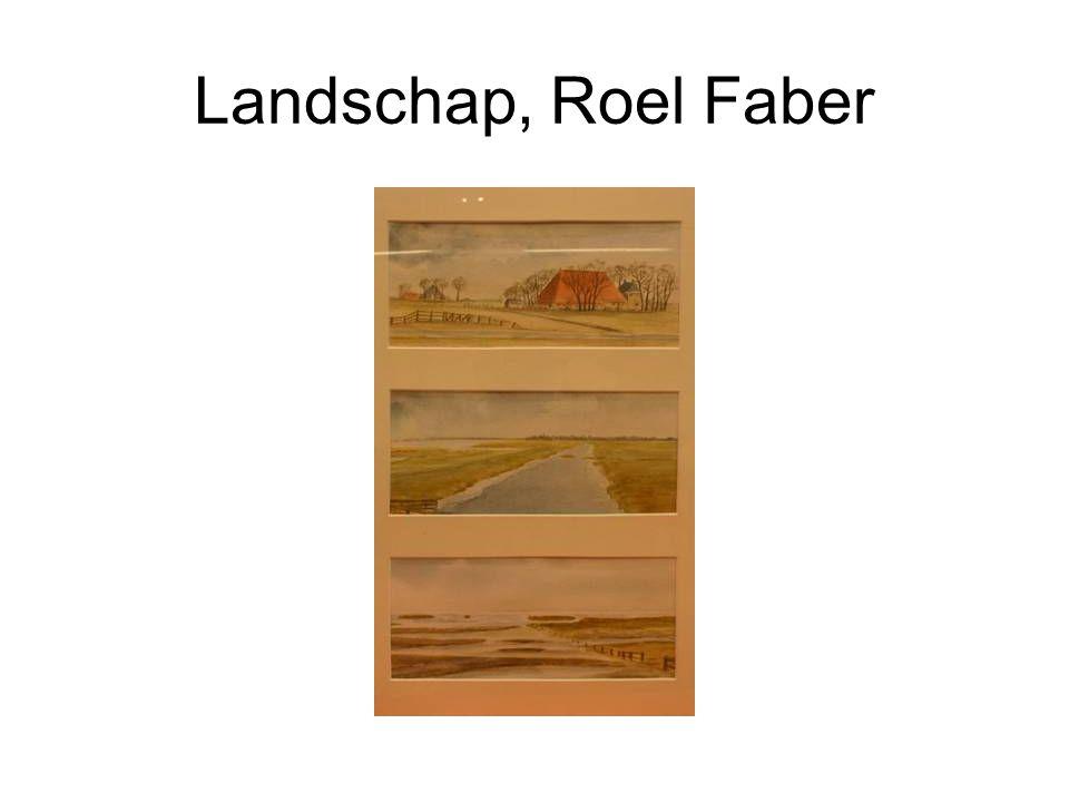Landschap, Roel Faber