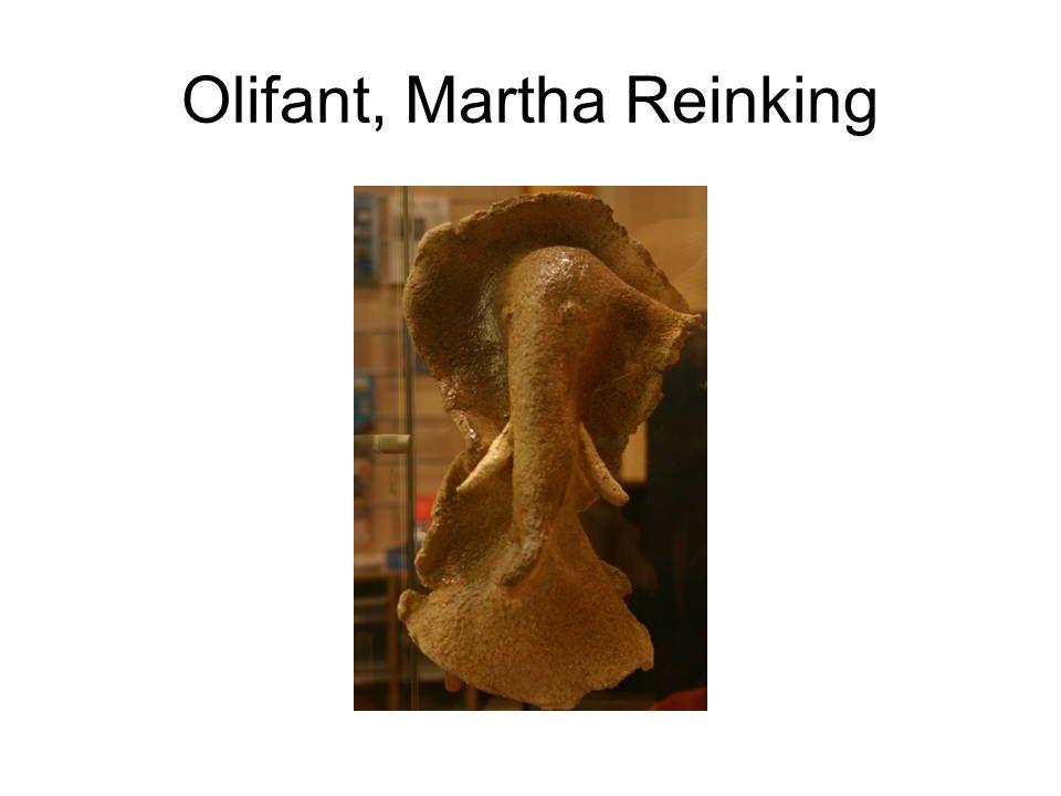 Olifant, Martha Reinking