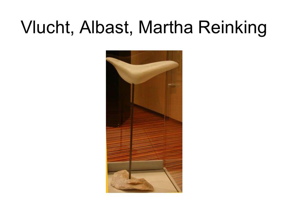 Vlucht, Albast, Martha Reinking