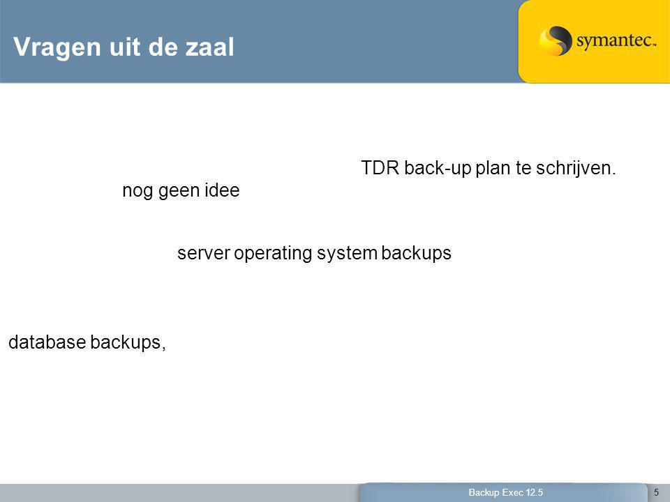 56 Backup Exec 12.5 Evaluate Free 60-Day Full Version Trial of: 1.