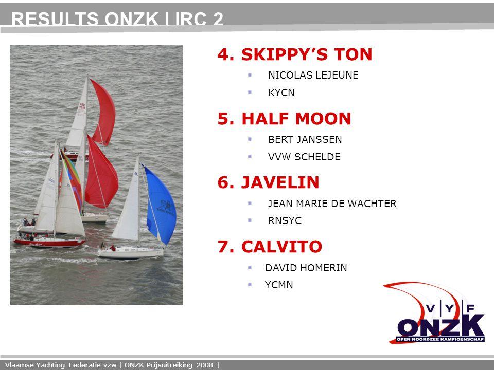 Vlaamse Yachting Federatie vzw | ONZK Prijsuitreiking 2008 | 4.