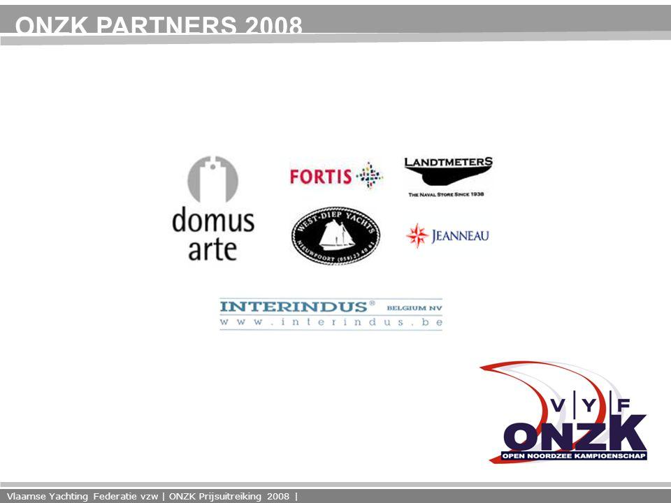 Vlaamse Yachting Federatie vzw | ONZK Prijsuitreiking 2008 | ONZK PARTNERS 2008