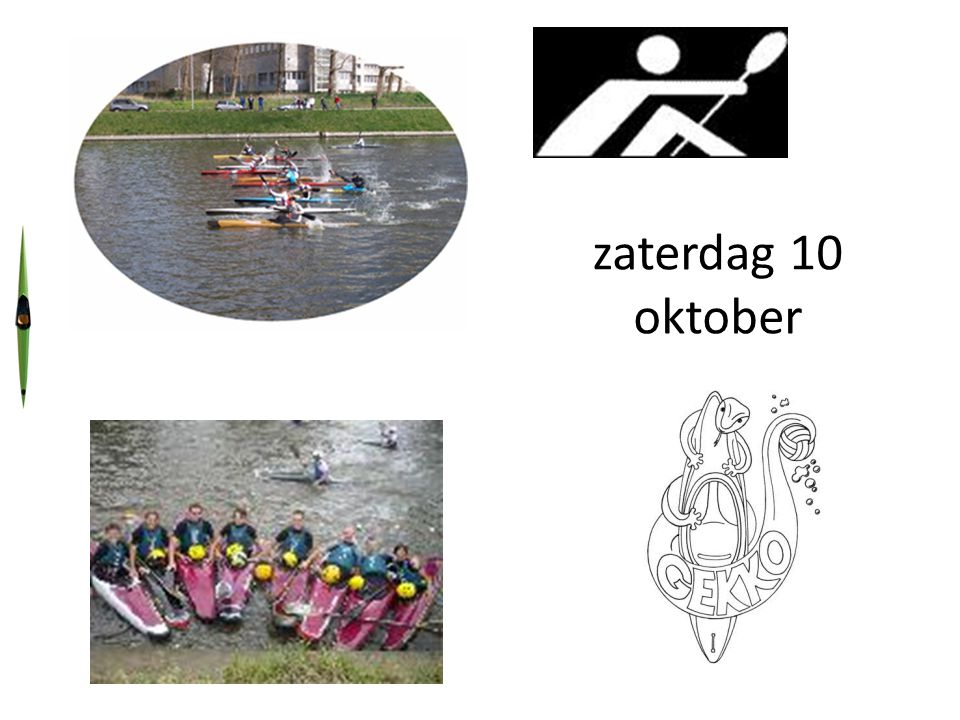 Inschrijven uiterlijk vóór: 25/09, voor de poloteams en 8/10/09 voor andere.