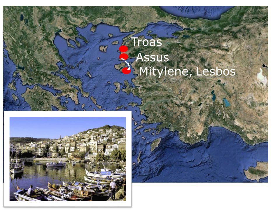 Troas Assus Mitylene, Lesbos