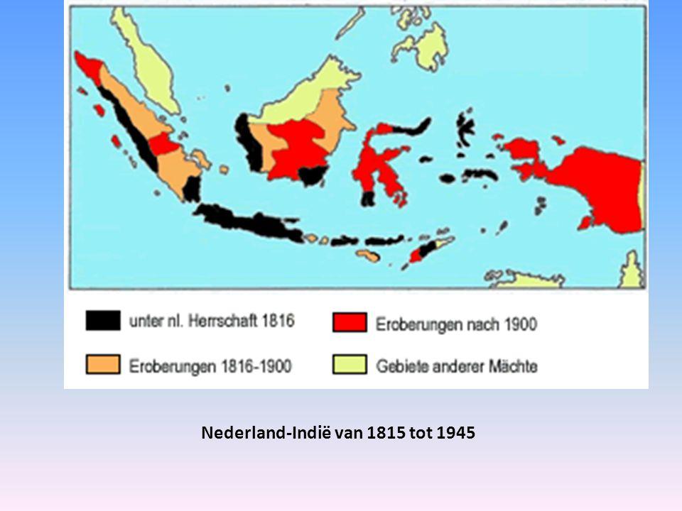 Nederland-Indië van 1815 tot 1945
