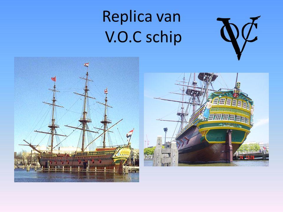 Replica van V.O.C schip