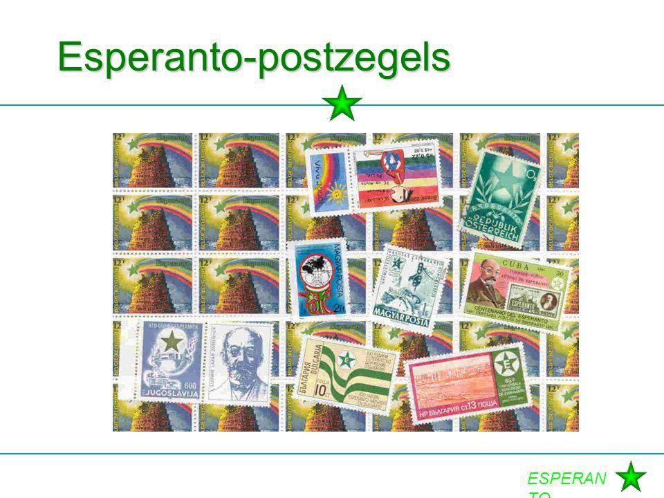 ESPERAN TO Esperanto-postzegels