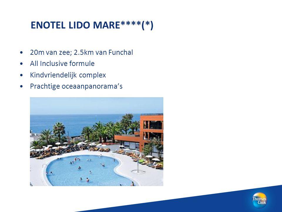 ENOTEL LIDO MARE****(*) 20m van zee; 2.5km van Funchal All Inclusive formule Kindvriendelijk complex Prachtige oceaanpanorama's