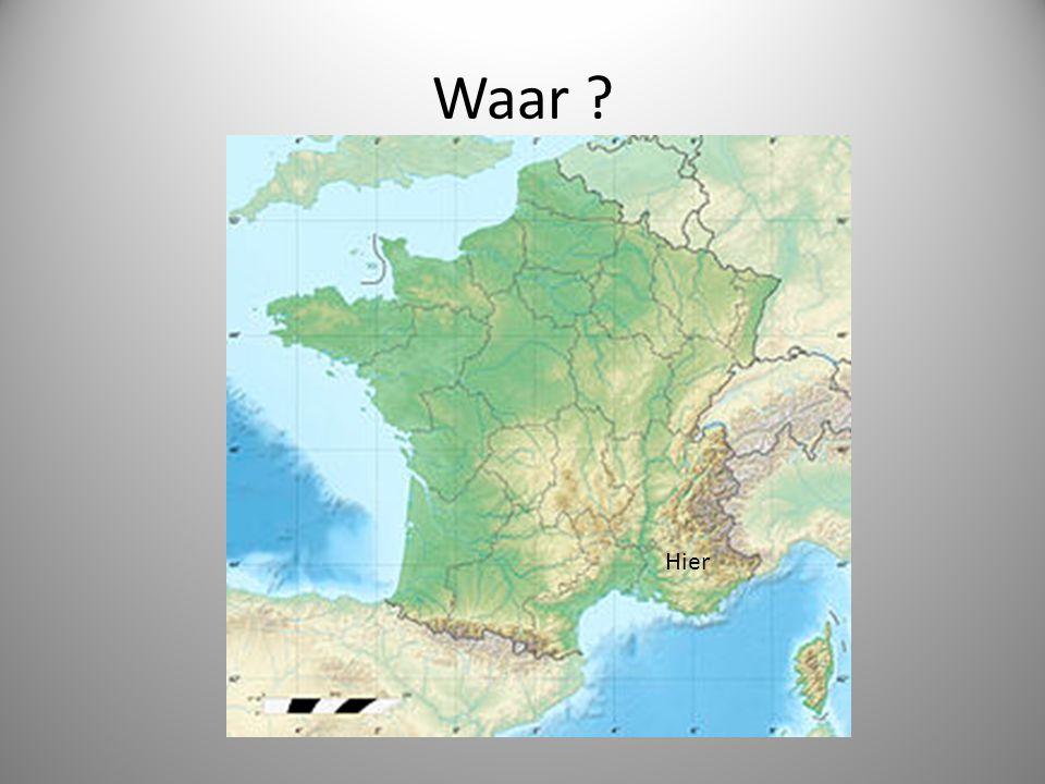 Waar ? Hier