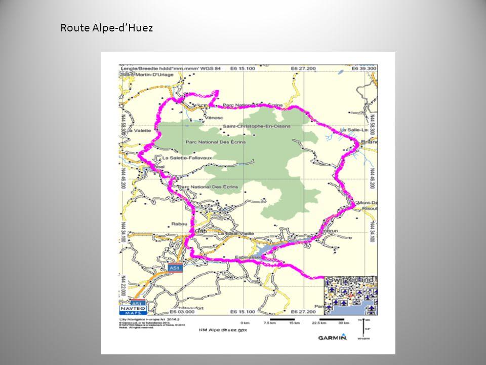 Route Alpe-d'Huez