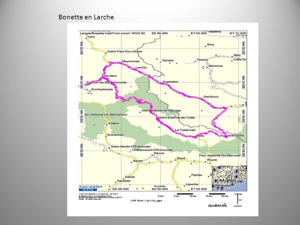 Bonette en Larche