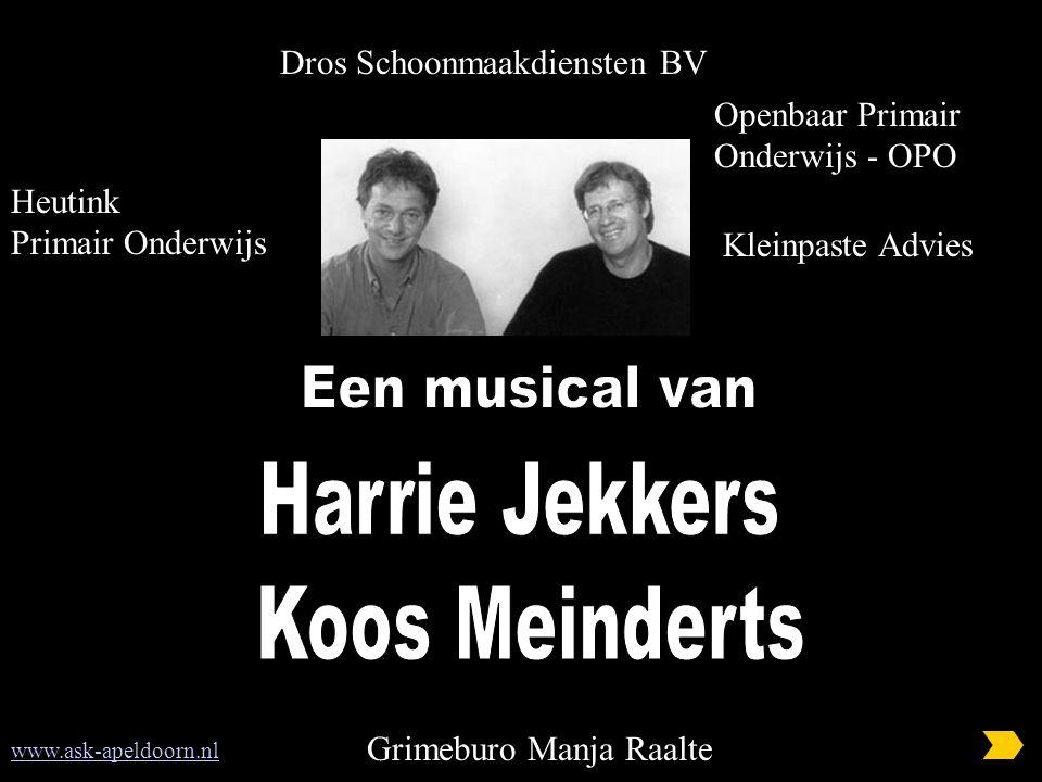 Dros Schoonmaakdiensten BV www.ask-apeldoorn.nl Grimeburo Manja Raalte Heutink Primair Onderwijs Openbaar Primair Onderwijs - OPO Kleinpaste Advies
