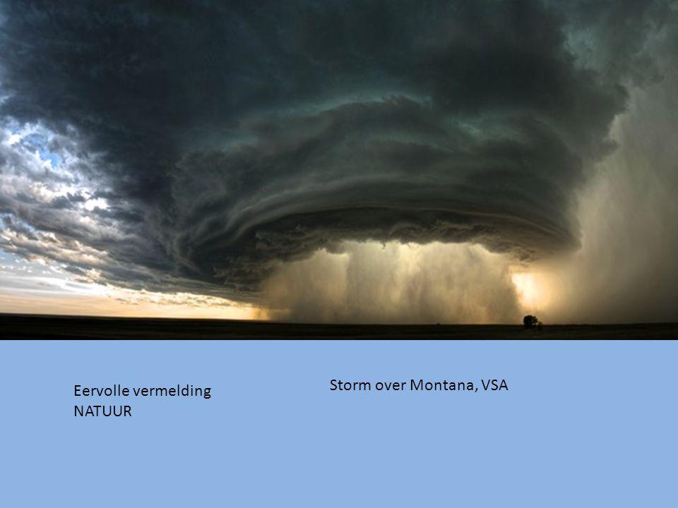 Storm over Montana, VSA Eervolle vermelding NATUUR