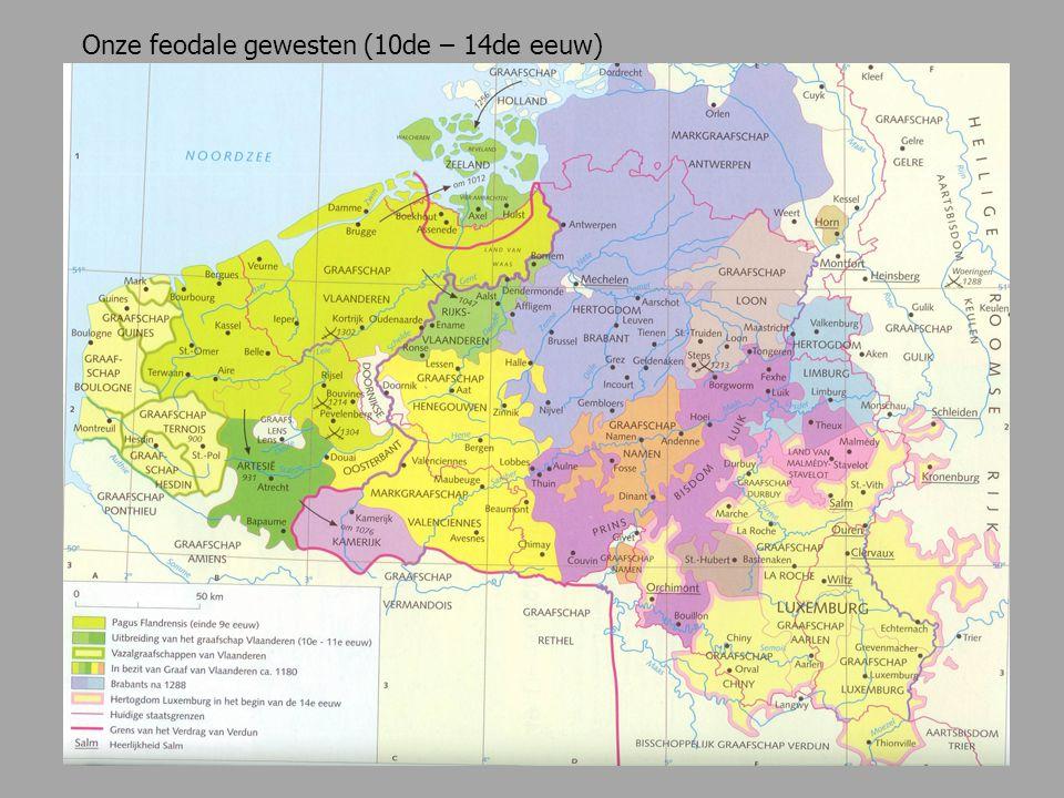 Onze feodale gewesten (10de – 14de eeuw)