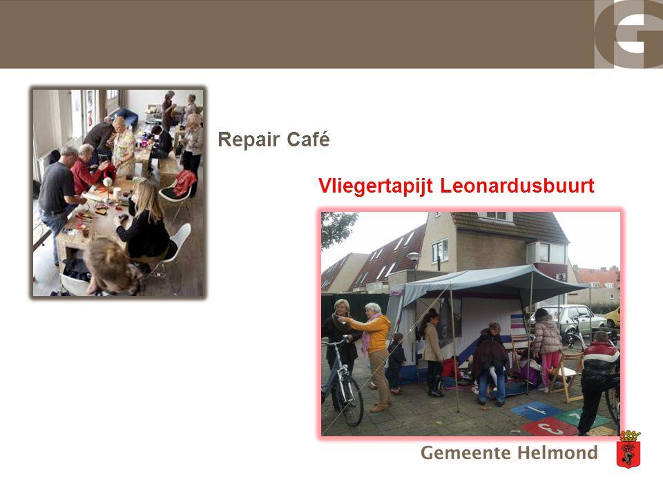 Repair Café Vliegertapijt Leonardusbuurt